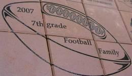 2007 7th Grade Football Family